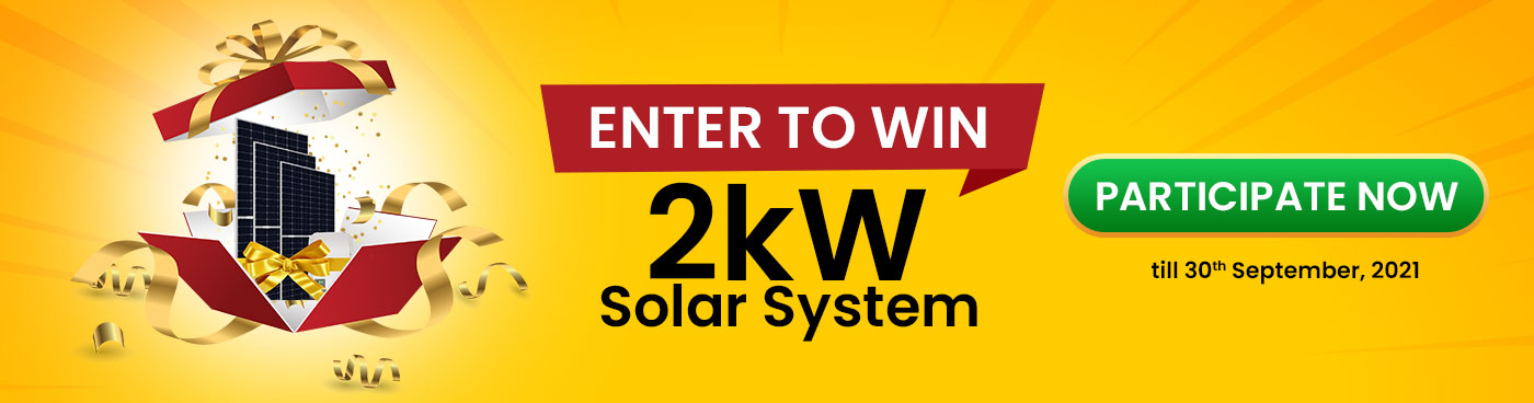Enter to win 2kW Solar System